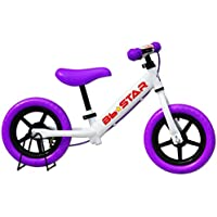 子供用自転車 バランスバイク Bb★STAR ペダルなし自転車 (パープル)
