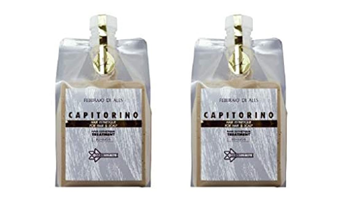 数学あざゴミ箱【2個セット】カピトリーノ トリートメント 1000g レフィル