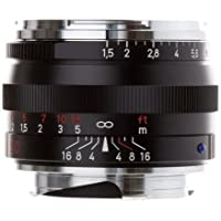 Zeiss Normal 50 mm f / 1.5 C Sonnar T * ZM Manual Focus Lens for Zeiss Ikon、Leica MマウントRangefinderカメラ – ブラック