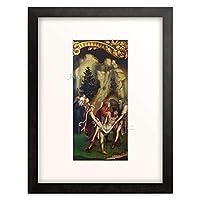 ハンス・ホルバイン Hans Holbein(子) 「Die Grablegung Christi. Rechte Tafel unten des Passionsaltars. 1524(?).」 額装アート作品