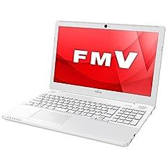 富士通 15.6型ノートパソコン FMV LIFEBOOK AH50/A3 プレミアムホワイト(Office Home&Business Premium 付属) FMVA50A3WP