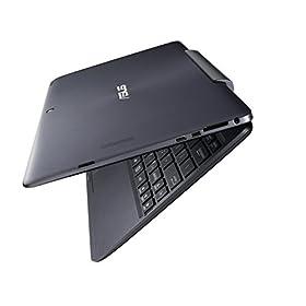 ASUS TransBook T100TAL ノートブック LTE モデル ( WIN8.1 BING-32B / 10.1inch touch / Z3735D / eMMC 32GB / 2GB / グレー ) T100TAL-B-3735