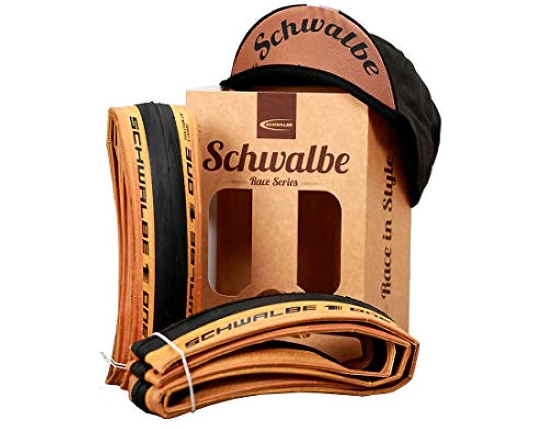 来て民間どこか2本セット Schwalbe (シュワルベ) One Evo シュワルベワン 700×25C 700C クラシックスキン セット Classic-Skin Folding Tyre Set 25-622 [並行輸入品]