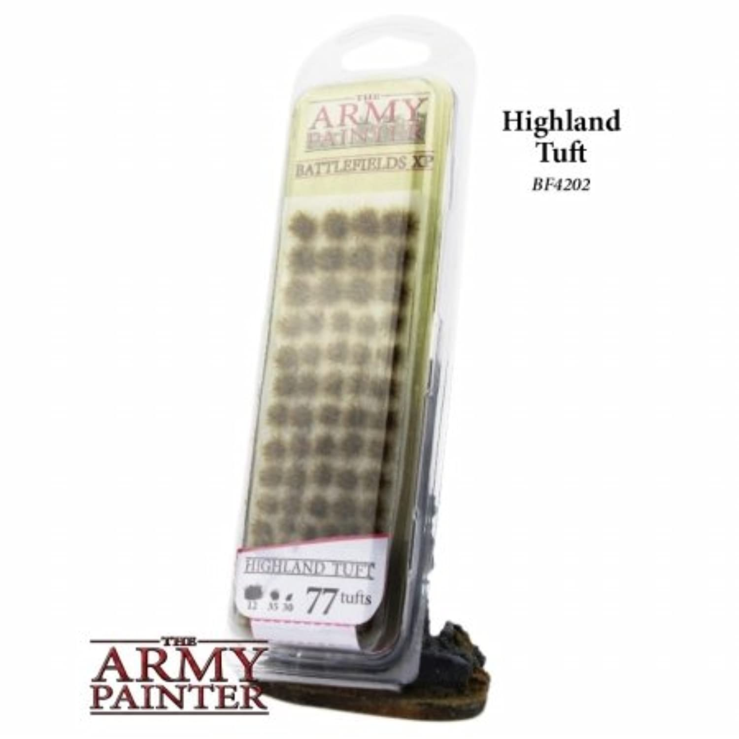 The Army Painter Warpaints - Battlefield Basing - Highland Turft BF4202