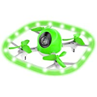 Potensic ドローン 高度保持 ヘッドレスモード 調節可能なLEDライト ミニドローン 低電圧?無効距離アラーム 日本語説明書付き 国内認証済み U51 小型 グリーン&ホワイト