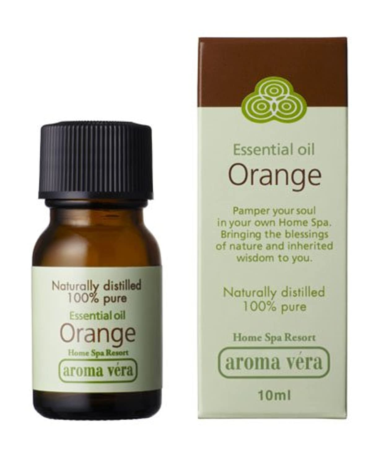 範囲海藻最大限アロマベラ エッセンシャルオイル オレンジ 10ml