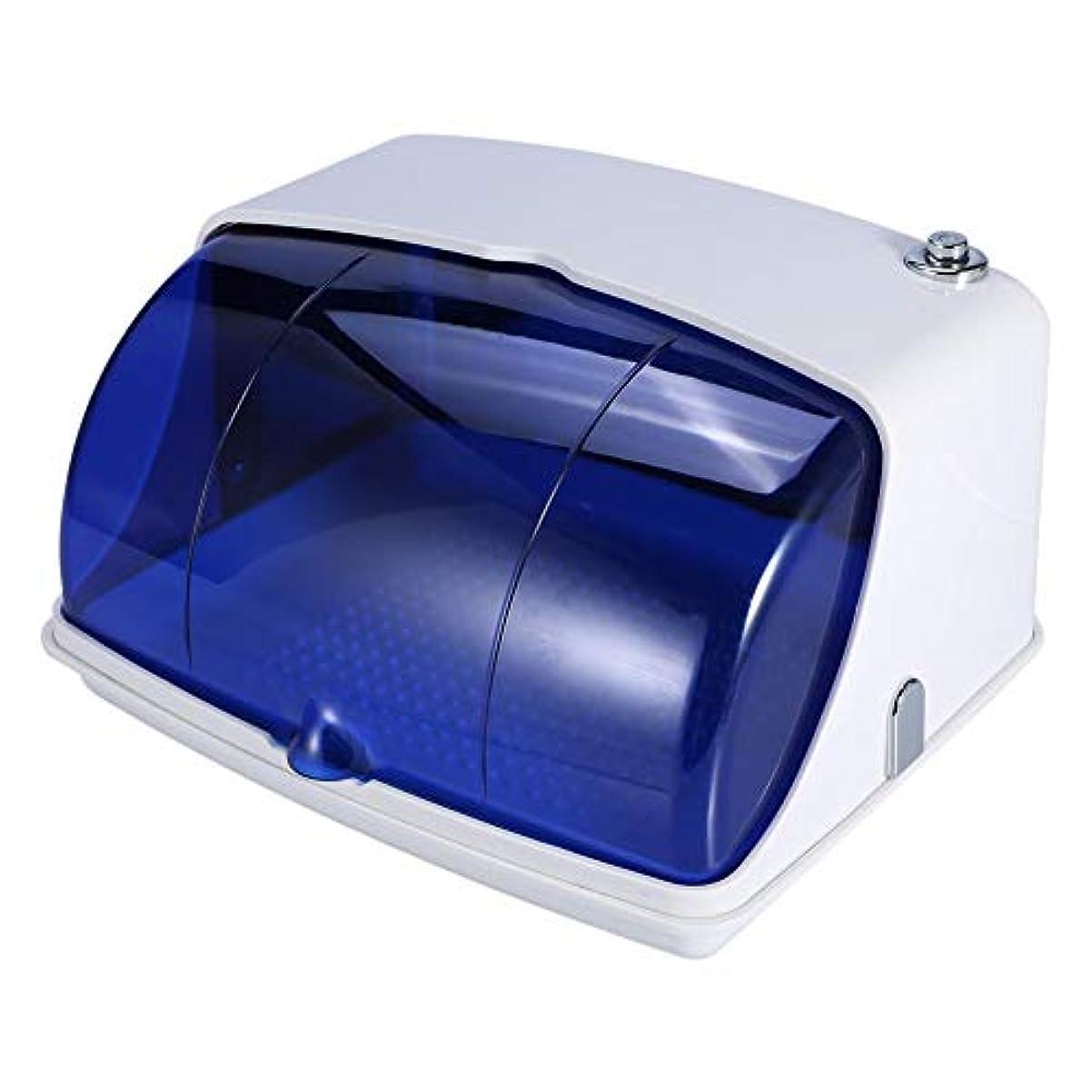 拾うスカート櫛サロン紫外線滅菌キャビネット プロフェッショナル紫外線 消毒滅菌 温度殺菌機 美容ネイルタトゥーツール(USプラグ)