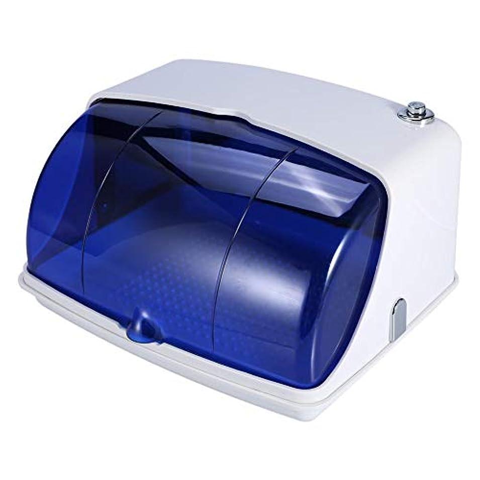 植物の評価可能装備するサロン紫外線滅菌キャビネット プロフェッショナル紫外線 消毒滅菌 温度殺菌機 美容ネイルタトゥーツール(USプラグ)