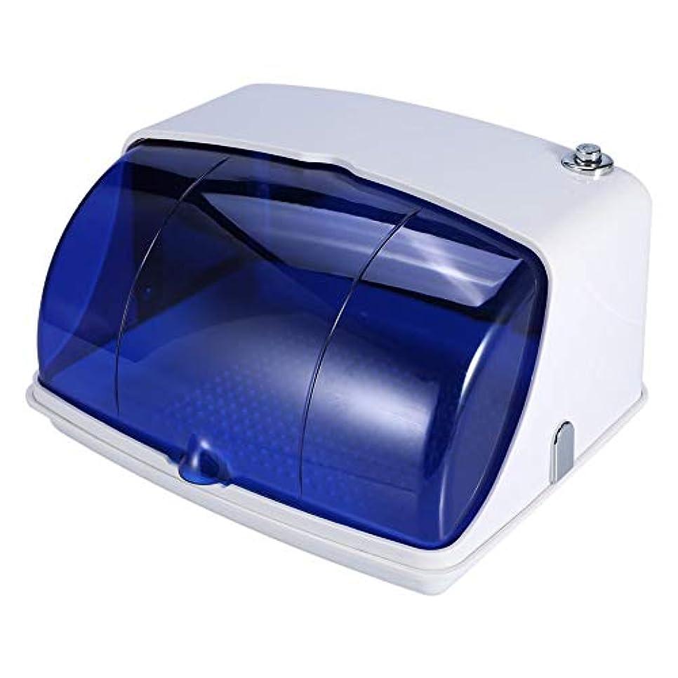 暗黙粉砕する滑り台サロン紫外線滅菌キャビネット プロフェッショナル紫外線 消毒滅菌 温度殺菌機 美容ネイルタトゥーツール(USプラグ)