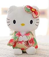 キティちゃん ぬいぐるみ 着物 サンリオ 人形 20㎝ プレゼント オレンジ