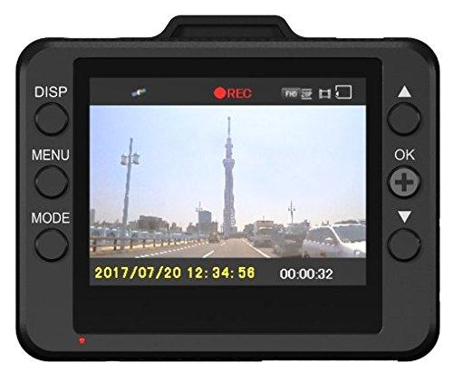 ユピテル ドライブレコーダー WD300 200万画素 Full HD/GPS/衝撃センサー/HDR/対角130º/東西LED式信号機対応 8GB microSD付属