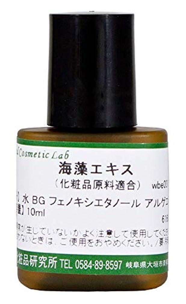 痛みドライブ悲しいことに海藻エキス 化粧品原料 10ml