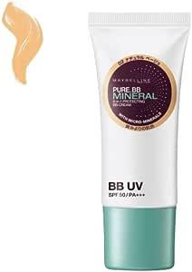 メイベリン ピュアミネラル BB クリーム UV 01 ナチュラル オークル(自然な肌色)