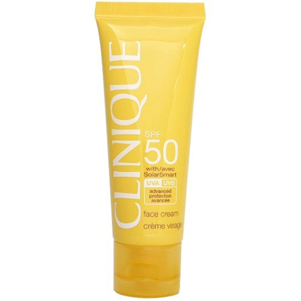 レザー容赦ない植物学クリニーク CLINIQUE SPF50 フェース クリーム SPF 50 PA+++ 50mL 【並行輸入品】