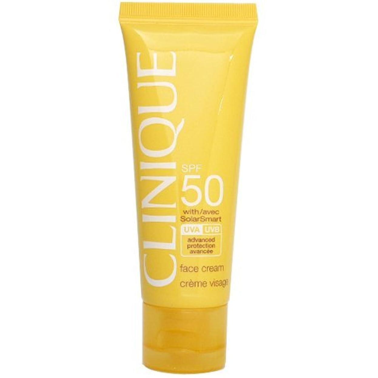 オーク十分なステップクリニーク CLINIQUE SPF50 フェース クリーム SPF 50 PA+++ 50mL 【並行輸入品】