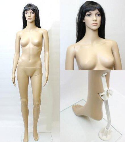 女性用マネキンG-7 等身大176cm 全身マネキン婦人用 店舗用品 MK-2727 -