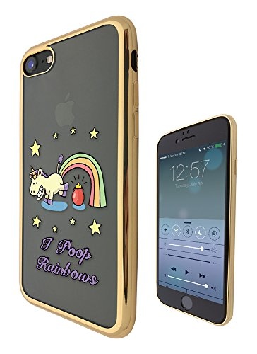 c01187 - Funny I Poop Rainbows Colourful Whimsical Cartoon Pot Of Gold Design iphone SE / iphone 5 5S ファッショントレンド スマートフォンケース カバー