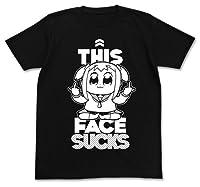 ポプテピピック SUCKS Tシャツ ブラック Mサイズ