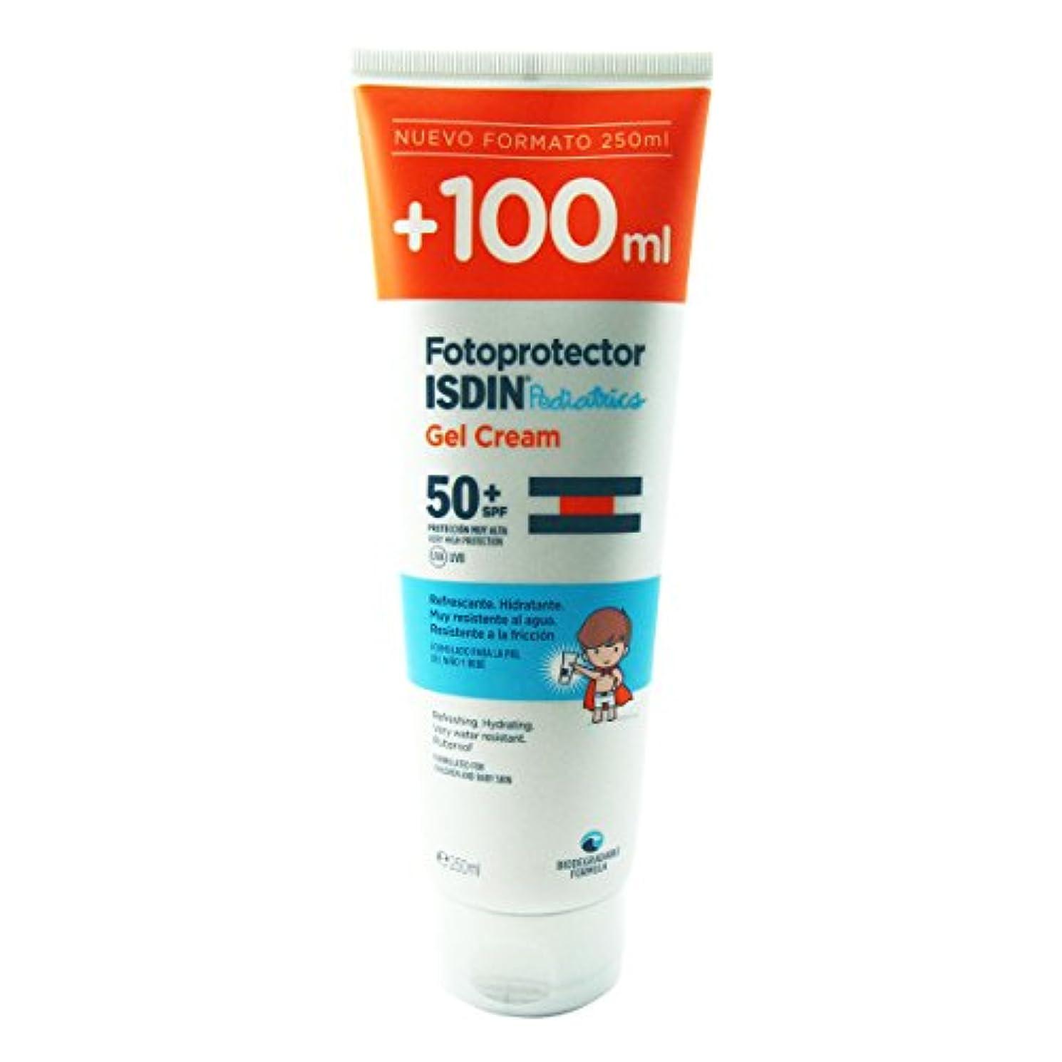有効なピンドアIsdin Photoprotector Pediatrics Gel Cream 50+ 250ml [並行輸入品]