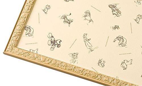 [해외]퍼즐 프레임 디즈니 전용 아트 피겨 패널 1000 피스 용 내츄럴 (51x73.5cm)/Puzzle frame Disney exclusive art figure figure panel Natural for 1000 pieces (51 x 73.5 cm)