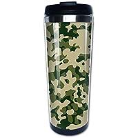LInLInD カモフラ グリーン 真空断熱マグカップ ステンレス製 コーヒー お茶 お酒 カップ