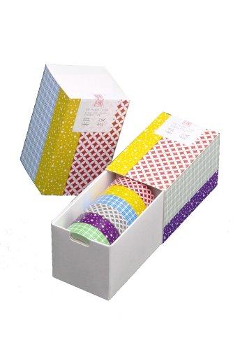 カモ井加工紙 マスキングテープ 15MM幅×10M巻 MT06P002 Mt6P和紋・弐