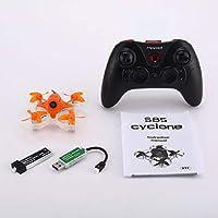 Blackfell Mirarobot S85 5.8Gミニマイクロ高速RC FPVレーシングクワッドローター無人機、5mW 600TVLカメラ3/6軸リアルタイム