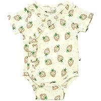 Babysoy Fruit Pattern Short Sleeve Bodysuit/Onesie