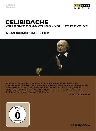 輸入盤DVD チェリビダッケのドキュメント:Celibidache: You Don't Do Anything You Let ItのAmazonの商品頁を開く