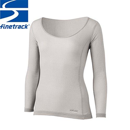 finetrack(ファイントラック) スキンメッシュロングスリーブ WOMEN'S FUW0411 PA(ペイルグレー) M