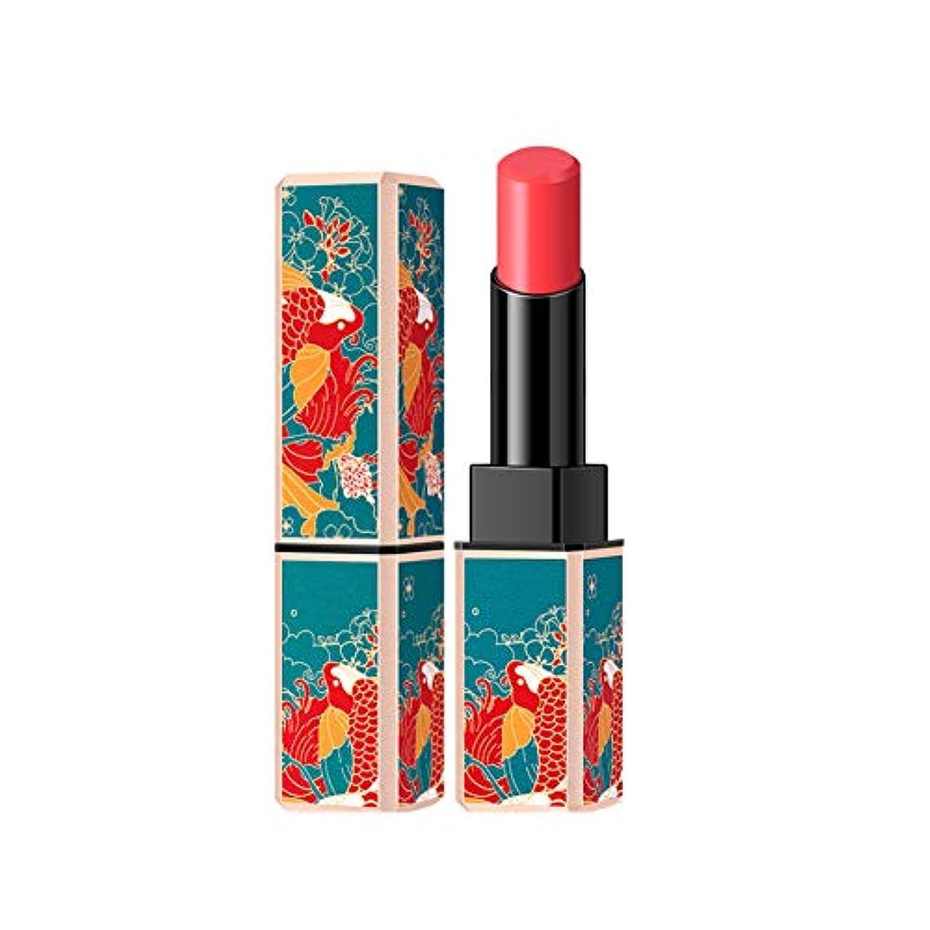 ドレス入力綺麗な中国風ナチュラルマット口紅持続保湿口紅化粧グレープフルーツの色