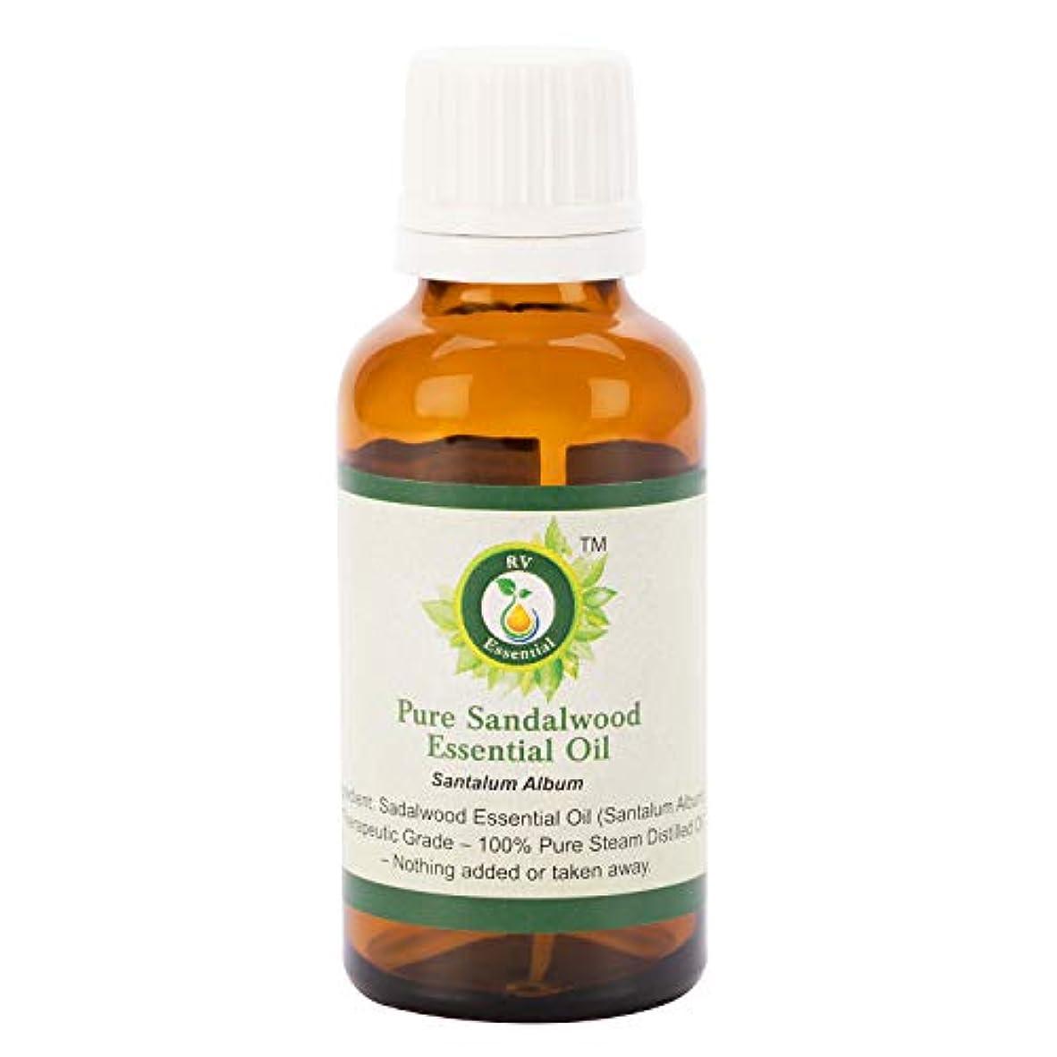 静める統計好意的ピュアサンダルウッドエッセンシャルオイル100ml (3.38oz)- Santalum Album (100%純粋&天然スチームDistilled) Pure Sandalwood Essential Oil