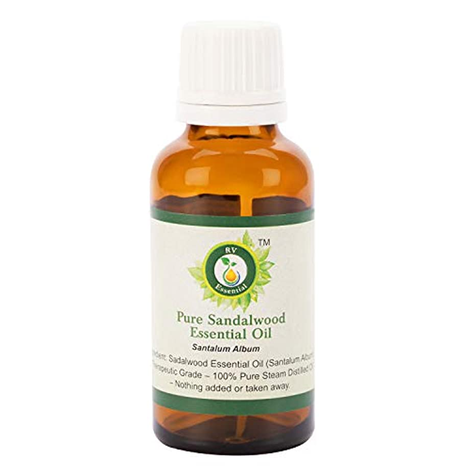 からに変化する行動傾いたピュアサンダルウッドエッセンシャルオイル100ml (3.38oz)- Santalum Album (100%純粋&天然スチームDistilled) Pure Sandalwood Essential Oil