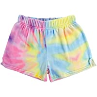 iscream Big Girls Silky Soft Plush Fleece Shorts - Boho Bliss Collection