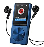 Qtuo MP3プレーヤー デジタルオーディオプレイヤー ハイレゾプレイヤー 8GB HiFi超高音質 音楽プレイヤー ミュージックプレイヤー 運動mp3プレーヤー FMラジオ マイクロSDカード64