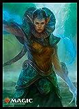 マジック:ザ・ギャザリング プレイヤーズカードスリーブ 『ラヴニカの献身』 《エリマキ神秘家》 (MTGS-078)