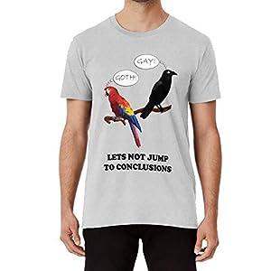 結論に飛び込まないようにしましょう Tシャツ