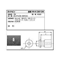YKKAP メンテナンス部品 ガイドピン (HHK3-8126) [YS]シルバー *製品色・形状等仕様変更になる場合があります*