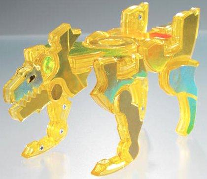 仮面ライダーヒビキ ディスクアニマル09 コガネオオカミ