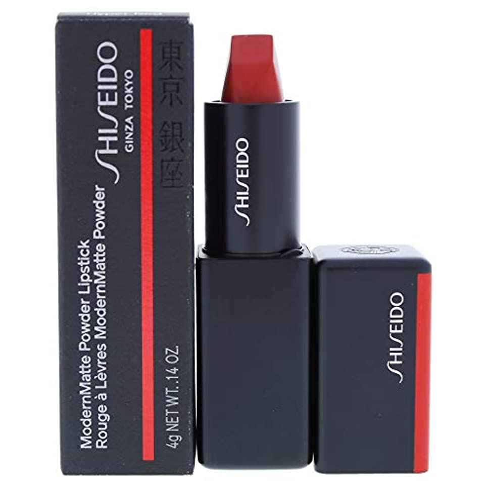 啓示決定補助資生堂 ModernMatte Powder Lipstick - # 514 Hyper Red (True Red) 4g/0.14oz並行輸入品