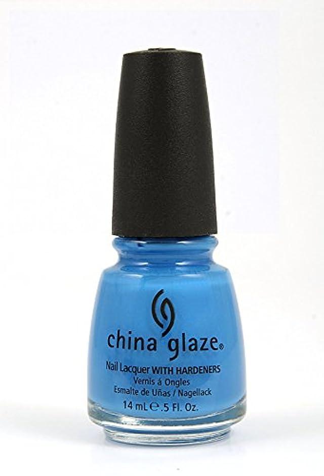 バージン型十年[China Glaze] 80903 スカイ?ハイ?トップ (Kicks)
