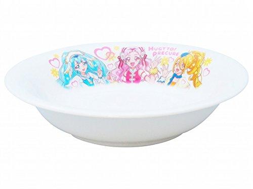 子ども用プレート 白 15cm HUG(はぐ) っとプリキュア フルーツ皿 36523