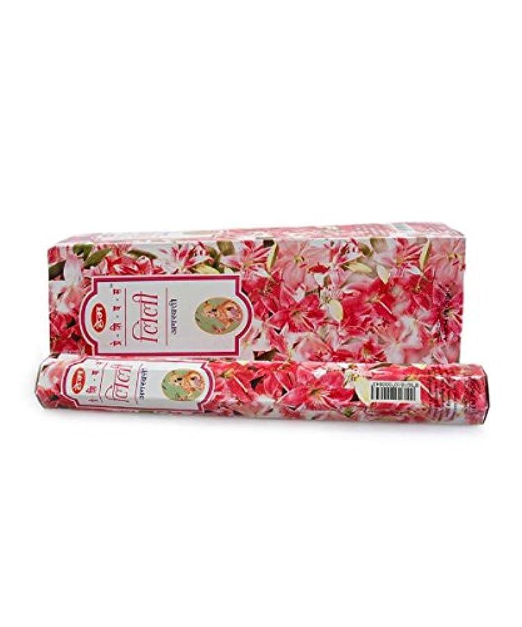 拘束する緩む実質的HEM(ヘム)社 プレシャス リリー香 スティック Precious Lily 6箱セット