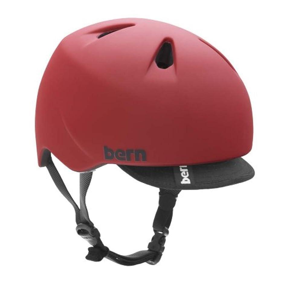 浴室呼び出す変数bern(バーン) NINO(ニーノ)モデル Matte Red Visorカラー S-Mサイズ(51.5cm-54.5cm)