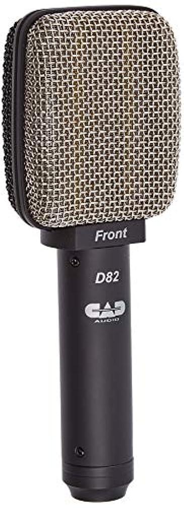 パスタ元気あいまいさCAD AUDIO 双指向性 サイドアドレス リボン?マイクロフォン D82