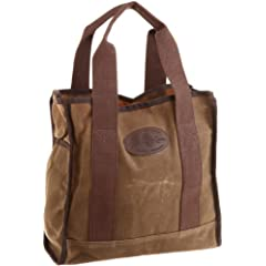 Lake Huron Tote 842: Field Tan Wax