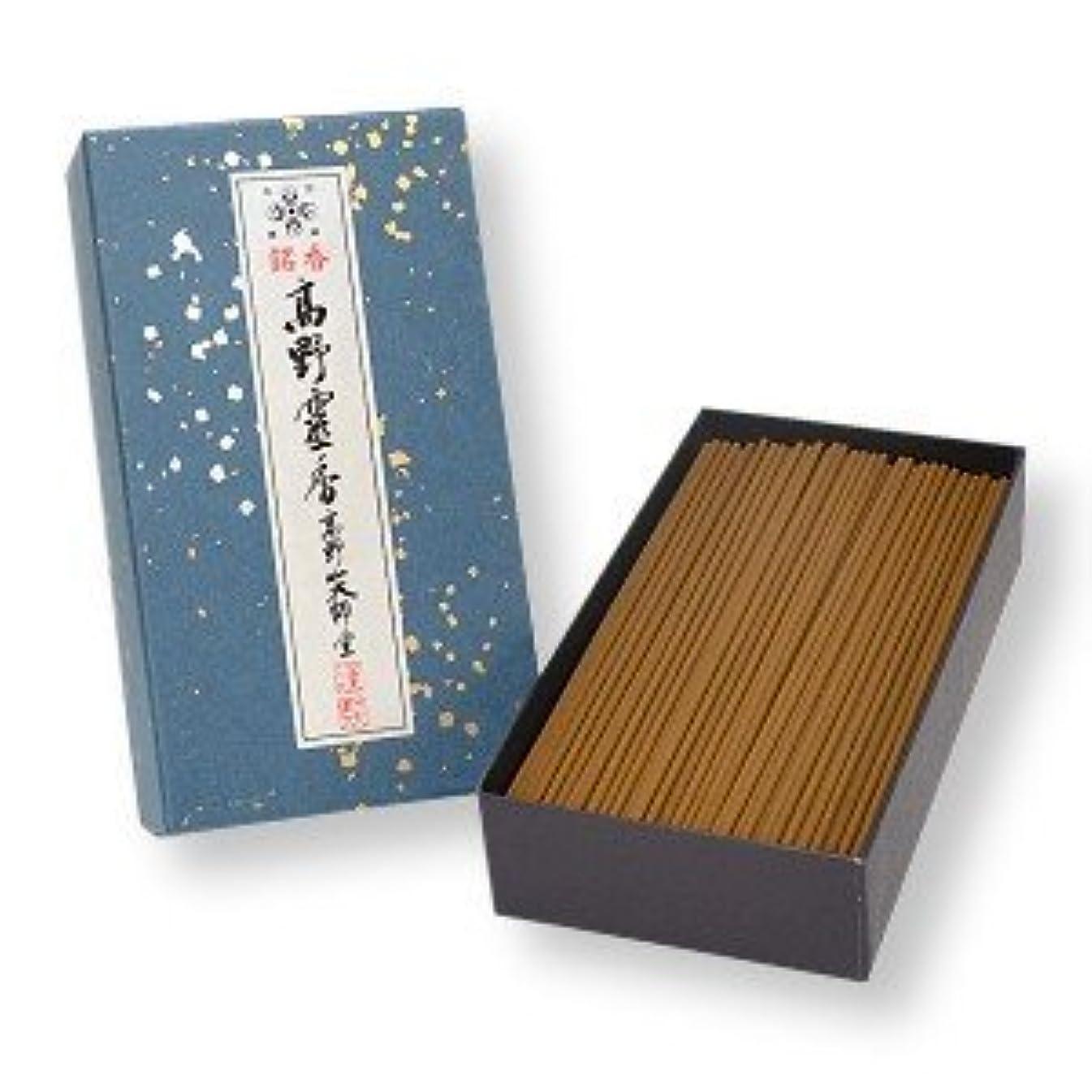 偉業バンガローもっともらしい高野山のお線香 銘香高野霊香 5寸13cm 大箱