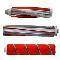 Roidmif8 F8eブラシリムーバー1リムーバーブラシ1フロアブラシ1カーペットブラシクリーナーHepaフィルターローラーブラシのオリジナル-赤とグレー