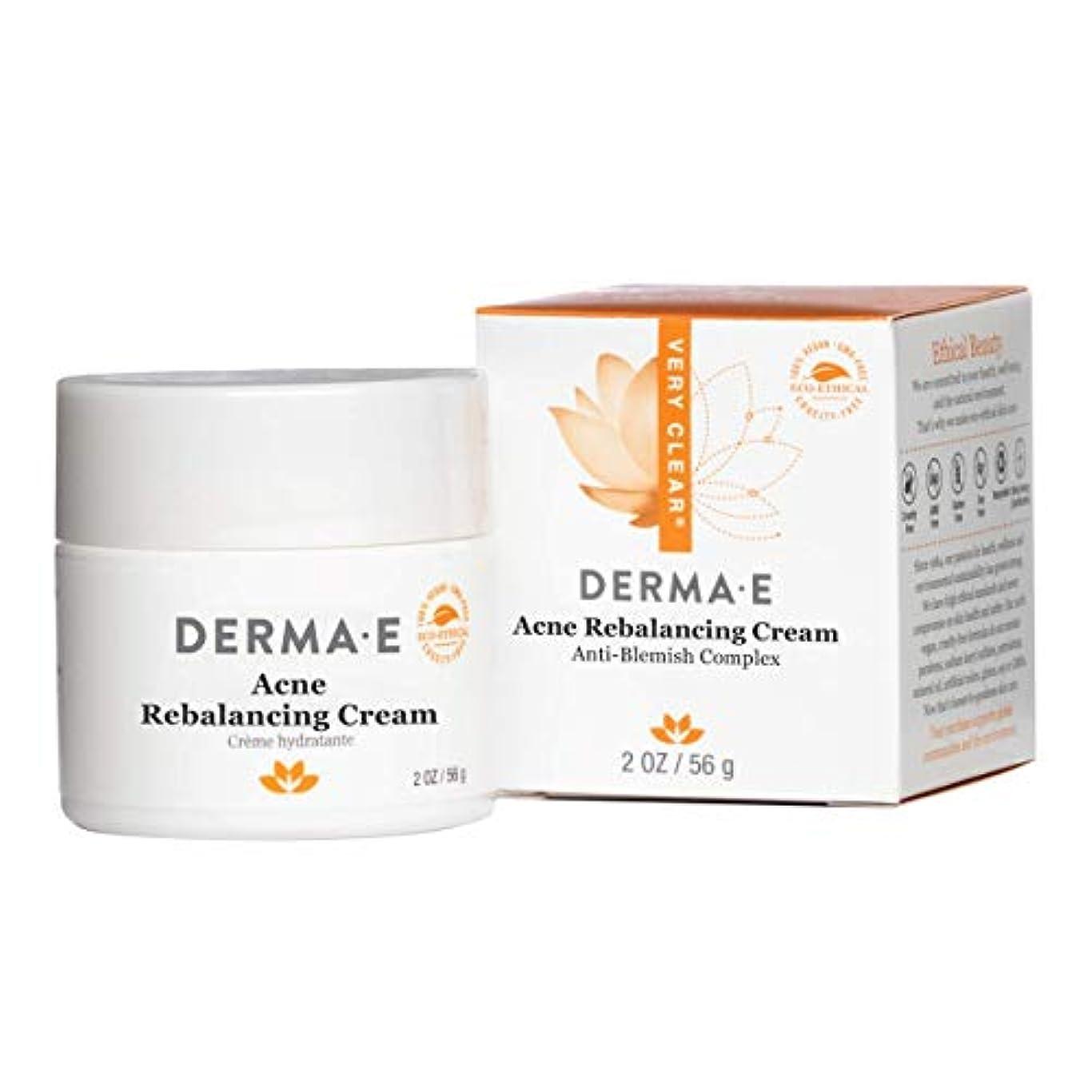 植物学者驚悪性Derma E Very Clear Moisturizing Cream 56g/2oz並行輸入品