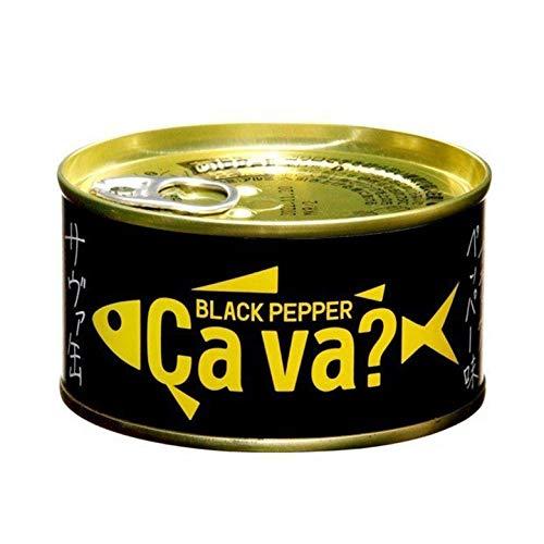 缶詰サヴァ缶国産サバのブラックペッパー味岩手県産170g1個